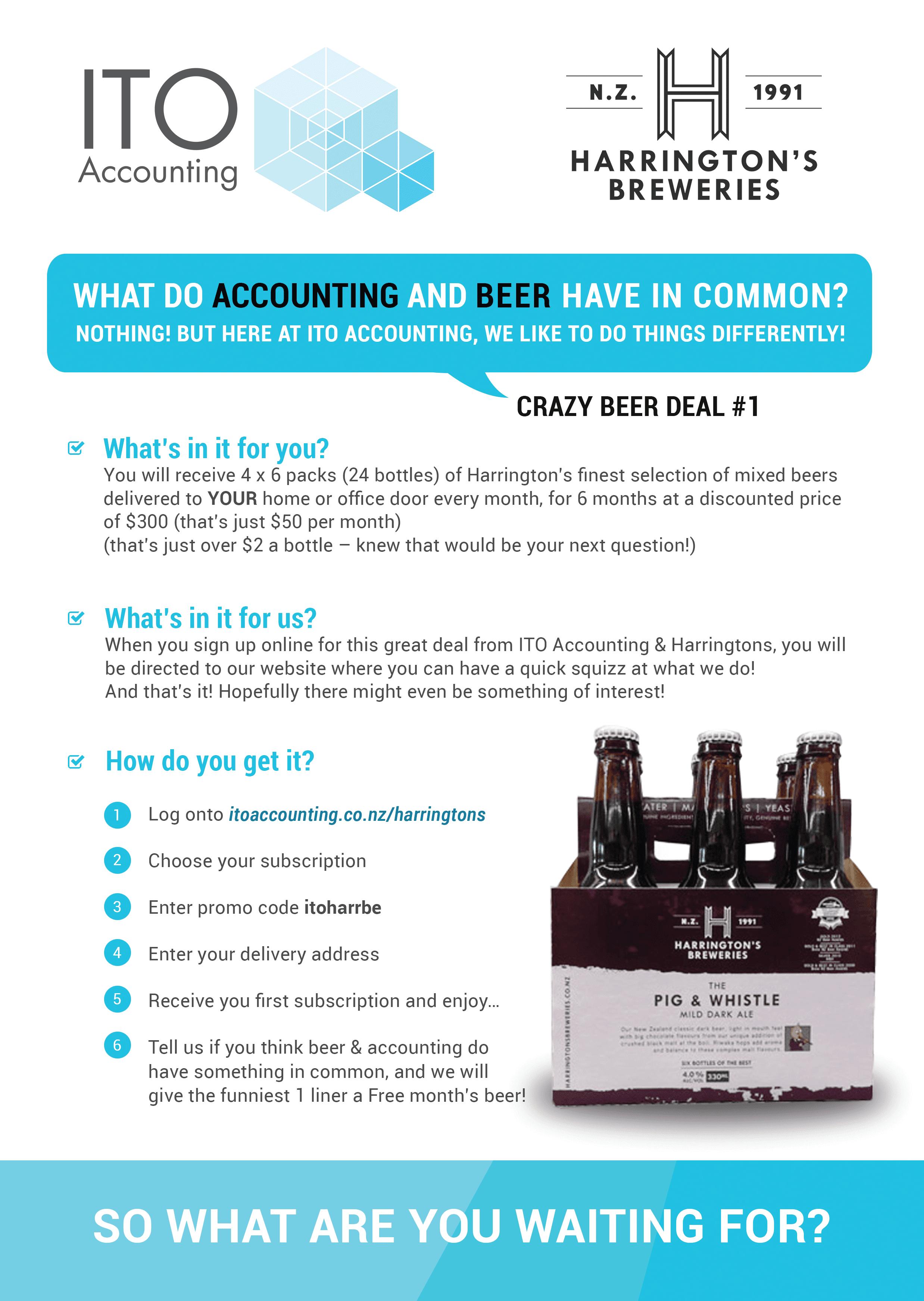Crazy Beer Deal #1