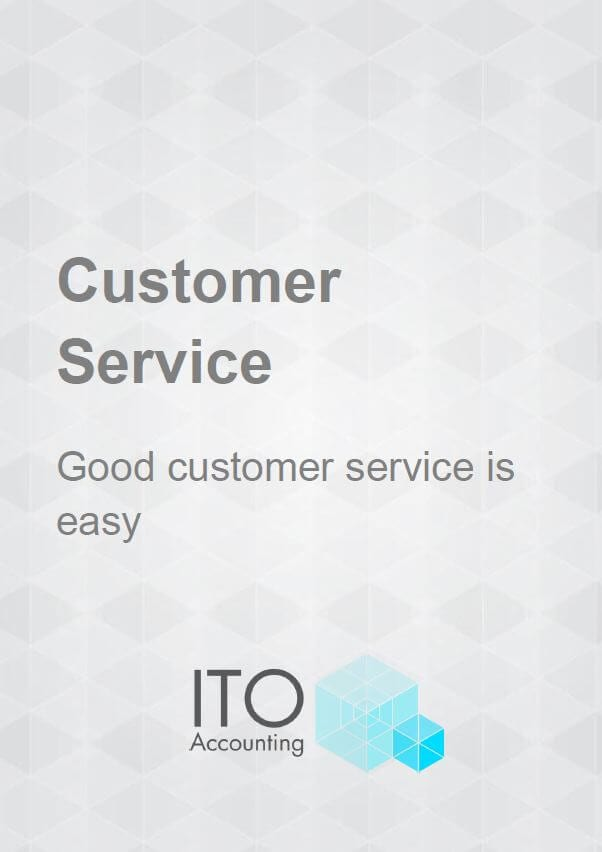Customer Service Guide cover